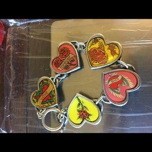 Jewelry - Super cute hearts bracelet